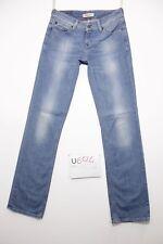 Levis 570 straight adapté jeans d'occassion (Cod.U694) Tg.43 W29 L34 femme