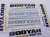 LOT of (6) Fishing Decals BOOYAH Fishing Stickers for Brand Lovers