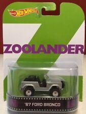 Zoolander '67 Ford Bronco Hot Wheels