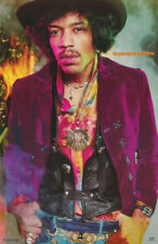 LOT OF 2 POSTERS :MUSIC: JIMI HENDRIX - EXPERIENCE -  FREE SHIP #5293  RP73 O