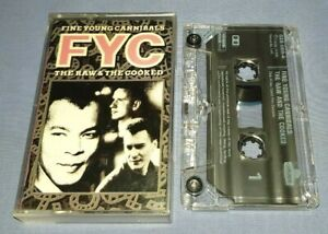 FINE YOUNG CANNIBALS THE RAW & THE COOKED cassette tape album A1377