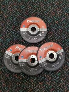 "Proferred 5"" Abrasive Stainless Steel Grinding Wheels - 4 Pack"