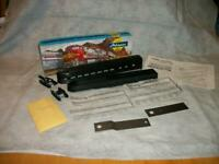 T335 Athearn Streamlined Observation Car Kit #1830 Undecorated HO Scale NIB
