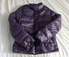 Burberry london purple 100% Down Puffer Women's jacket XSmall