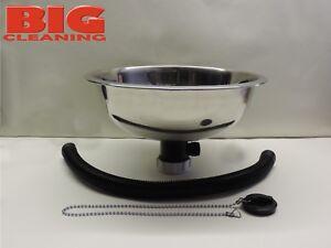 Stainless Steel Hand Wash Sink 28cm camper van