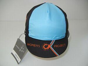 CRAFT Blue/Orange/Black CYCLOCROSS CYCLING HAT Women's Project Bike Race Cap NEW