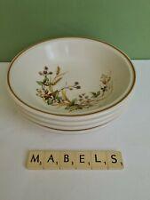 MARKS & SPENCER ~AUTUMN LEAVES~  cereal dessert bowls x 4