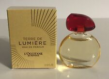 L'Occitane TERRE DE LUMIERE Eau de Parfum Mini Perfume Splash New 0.16 Oz