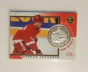 Brendan Shanahan Limited Solid Fine Silver Coin Pinnacle Detroit Red Wings