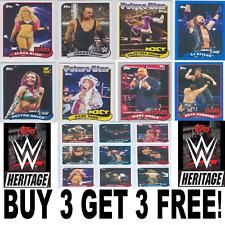 Topps WWE Heritage 2018 Base Cards Singles *1-110*  BUY 3 GET 3 FREE!! Freepost