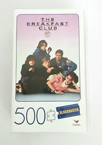 The Breakfast Club 500-Piece Puzzle in Plastic Retro Blockbuster VHS Video Case