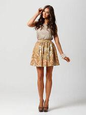 Animal Print A-Line Mini Skirts for Women