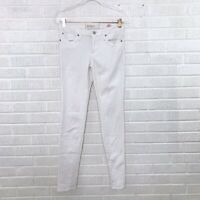 Marc by Marc Jacobs Womens Size 28 Super Skinny Jeans Off White Denim Cotton