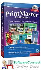 Broderbund PrintMaster 7 Platinum Print Master Genuine Guarantee