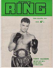 1964 Australian Ring Magazine Third Quarter 1964 Vol 8 No 4