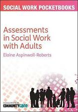 Assessments in social work with adults (Social Work Pocketbooks)-ExLibrary