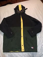 Vtg Nautica Competition Men's Full Zip Winter Coat Jacket Size Medium