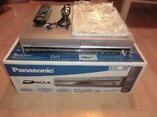 Panasonic dmr-ex98v DVD/VHS -/HDD RECORDER, 250gb, OVP, 2 ANNI GARANZIA