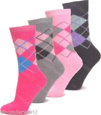3 Pairs Ladies Thermal Boot Socks Extra Thick Heat Hiking Winter Warm 4-7 Option 1