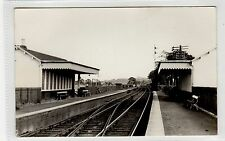 Postcard size photograph of Manuel Station, Stirlingshire in 1950 (C26188)