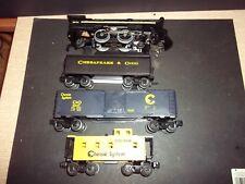LIONEL Chessapeake  TRAIN SET, no box or track or transformer