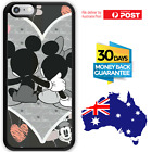 TPU Rubber Shockproof Bumper Case Cover Disney Mickey Minnie Mouse Heart Love