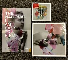 """The National- I Am Easy To Find 3XLP-Colored Vinyl Yellow/Red/Grey W/ 7""""+Poster!"""