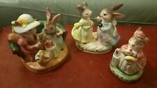 Avon Precious Moments Collection Bunnies Mice Lot #1