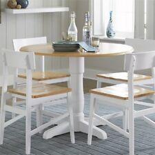 Progressive Furniture Christy Complete 40 In. Round Dining Table Light Oak