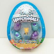 Hatchimals Colleggtibles 4 Pack + Bonus Mermal Magic Toys Yellow Foxlike Animal