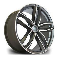 """4 X 18"""" AUDI RS6 STYLE VW ALLOYS AUDI ALLOYS SEAT ALLOYS 5X112 WHEELS"""