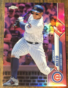 2020 Topps Chrome Anthony Rizzo Pink Refractor 🔥🔥