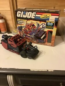 Gi Joe Vintage 1986 Dreadnok Thunder Machine Complete with Box