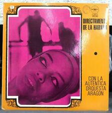 ORQUESTA ARAGON -LA AUTENTICA ORQUESTA ARAGON- RARE MEXICAN LP SOC GUARACHA