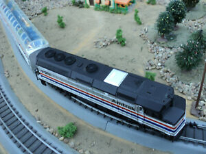 Amtrak Ho scale train set complete Life Like F40