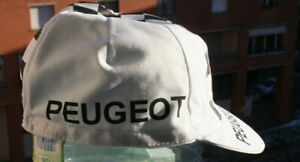 NEW PEUGEOT Vintage Team Cycling Cap - Made in Italy