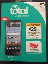 TOTAL WIRELESS MOTO g6  NEW IN BOX ALSO WORKS ON PAGE PLUS