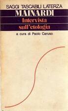 DANILO MAINARDI INTERVISTA SULL'ETOLOGIA LATERZA 1977