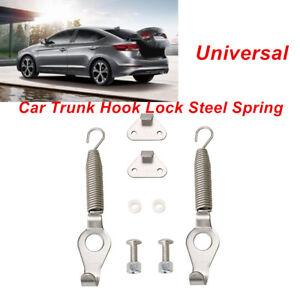 2PCS 5.2 inch Universal Racing Spring Car Trunk Hood Lock Kit Hinge Steel Superb