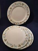 VINTAGE Pattern Fine China of Japan - #6701 - SET OF 4 Dinner Plates Set shiny!