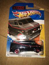2011 Hot Wheels Nuevos Modelos un equipo van 1:64 Mr. T 1983 Dodge Van