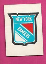 1977-78 OPC # 333 NY RANGERS  TEAM LOGO GOOD CARD (INV# A9904)