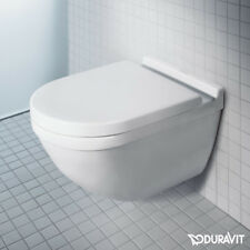 Duravit Philippe Starck 3 Wall Hung Mounted Rimless Toilet WC Box Set 45270900A1