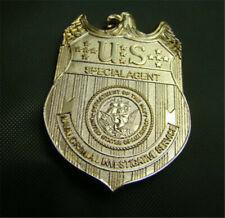 Badge Pin Party Cosplay Costume Gift New Ncis Metal Badge Golden Replica Waist