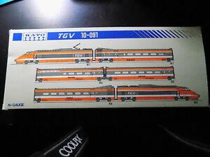 TGV Sud Est SNCF - KATO Echelle N 1/160 - Coffret 10-091