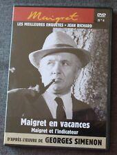 Jean Richard, Maigret en vacances & Maigret et l'indicateur, DVD N°4
