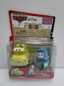 NEW 2007 Disney Pixar Cars Luigi & Guido Set 7771 Sealed Mega Bloks