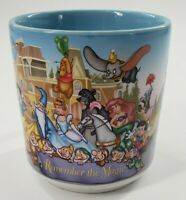Vintage Walt Disney World 25th Anniversary Remember The Magic Coffee Mug 1996
