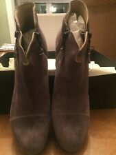 New with box: Rag & Bone Margot Booties, Granite Suede SZ: 40