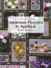 Japanese Flowers in Applique by Eileen Campbell (Paperback, 2010)